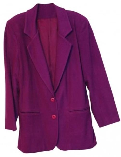 James River Traders Wool & Cashmere Suit Jacket