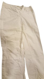 Anthropologie Ankle Length Capris white