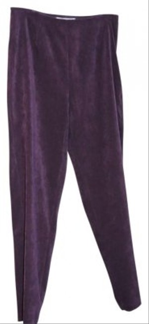 Preload https://item4.tradesy.com/images/eggplant-purple-suede-look-straight-leg-pants-size-12-l-32-33-117778-0-0.jpg?width=400&height=650