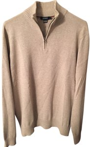 J.Crew Mens Mens Men Mens Men's Mens Mens 1/4 Zip Cotton Mens Cotton Mens Mens Mens Tan Mens Tan Sweater