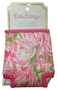 Lilly Pulitzer Lilly Pulitzer Drink Hugger Koozie New In Pink Colony
