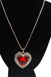 Betsey Johnson Betsey Johnson Heart Pendant Necklace N150