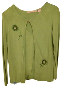 Easel Floral Applicants Sweater