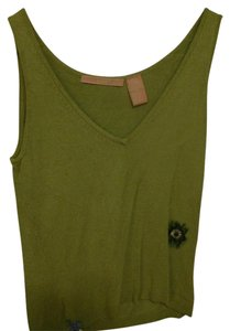 Easel Sweater Set Top Green