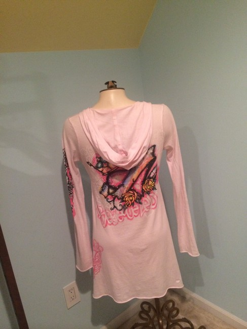 Other short dress Pink Chanel Louisvuitton Sky Coverup Bikinicoverup on Tradesy
