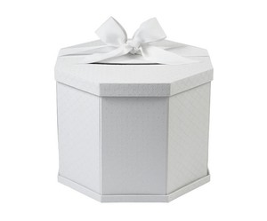 Wedding Gift Card Box White Keepsake Wedding Memorabilia Gift Card Box Elegant White Gift Box For Collecting Gift Cards