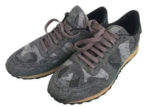 Valentino Rockrunner Gray Camo Athletic