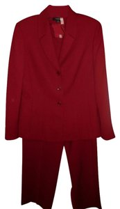 Tahari Red Tahari Pant-Suit