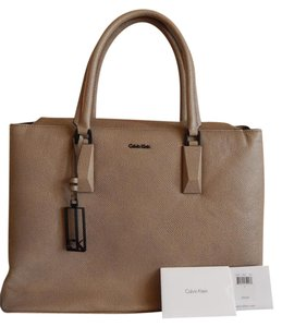 Calvin Klein Pebble Leather Imported Never Been Used Tote in Blush