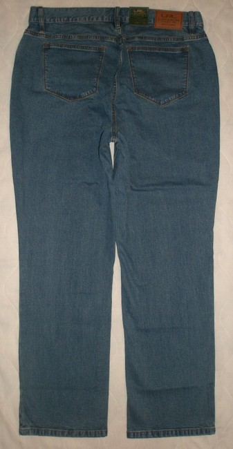 Ralph Lauren Classic 5 Pocket Style *zip Fly *cotton/Spandex *classic *machine Washable Straight Leg Jeans-Medium Wash