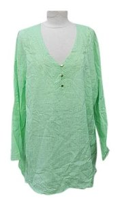Cynthia Rowley New Woman 2x Embroidered Tunic