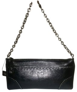 Cole Haan Leather black Clutch