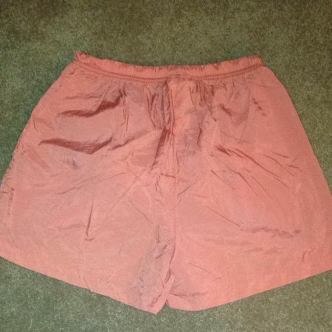 adidas Adidas Orange Athletic Shorts, Size Large