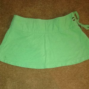 Roxy Green Cute Skirt Lime Green