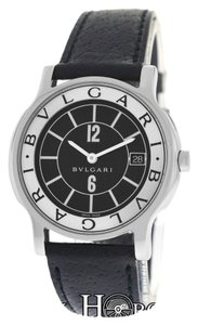 BVLGARI Bvlgari Bulgari Solotempo ST35S Stainless Steel Quartz 35MM Watch