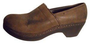 Dockers Leather brown Mules
