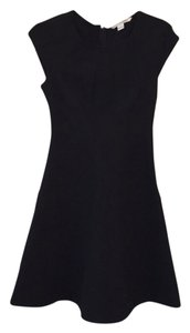 Diane von Furstenberg Mini Flounce Sleeveless Date Night Dvf Dress