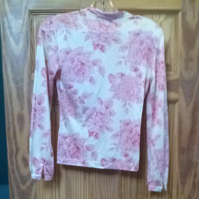 Banana Republic Top Pink/ White
