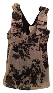 Anthropologie Top Blush And Black