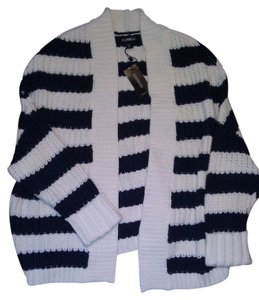 Express Nautical Sweater Cardigan