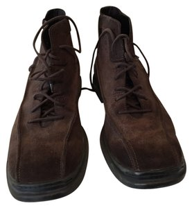 Cole Haan Men Brown with nike air brown sole Boots