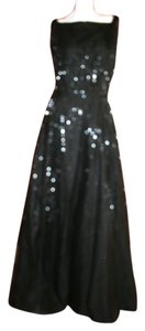 Neiman Marcus Maxi Sequin Beads Detail Dress