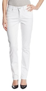 NYDJ Cotton Embroidery Zip Skinny Jeans