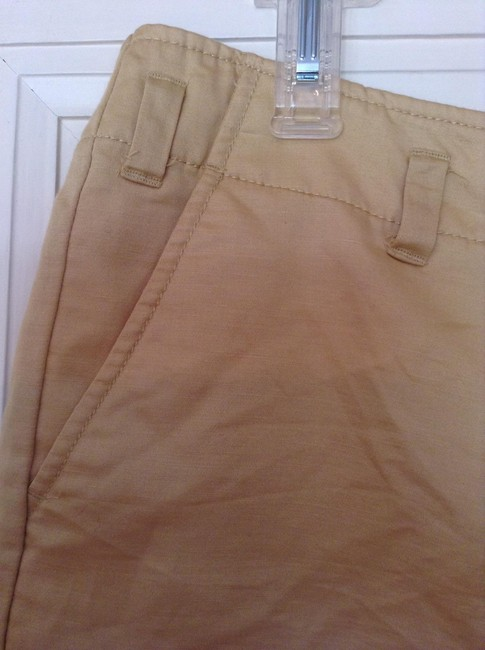 J.Crew Dress Shorts Gold