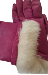 Other Leather gloves Fully Lined with Rabbit Fur