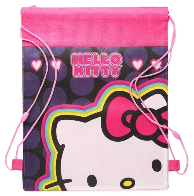 Item - Drawstring Pink Nonwoven Backpack