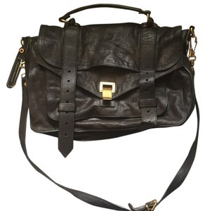 Proenza Schouler Satchel in Army Green