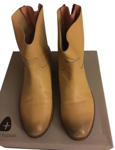 ADAM Tucker Leather Saddle Saddle/brown/gold Boots