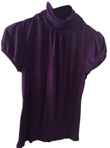 Banana Republic Short Sleeve Top Purple