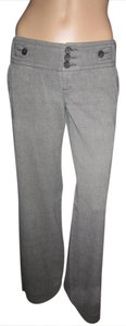 Banana Republic Soft Business Or Casual Trouser Pants Brown with White Flecks
