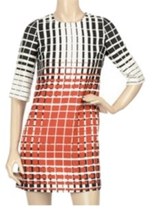 Karta short dress Multi, black, white, orange Cos Dries Van Noten on Tradesy