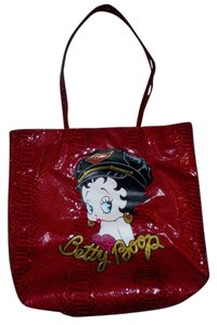Betty Boop Tote in Red