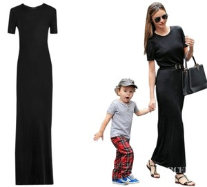 Black Maxi Dress by The Row Helmut Lang Isabel Marant Iro Victoria Beckham Tibi