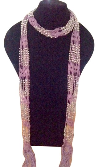 Other Scarf with beaded accents