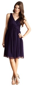 Donna Morgan Silk Purple Dress