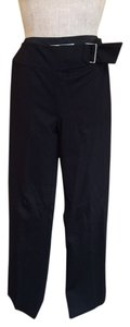 Trina Turk Sailor Ponte Sidezip Trouser Pants Black