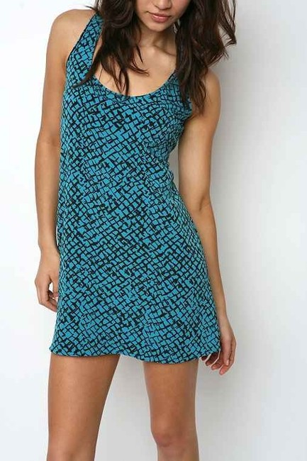 Urban Outfitters short dress Bright turquoise Rn 66170 Silence & Noise on Tradesy