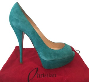 Christian Louboutin Turquoise Pumps
