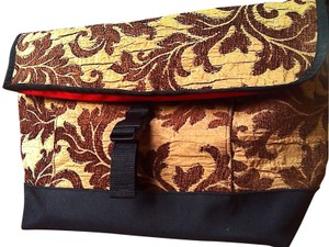 Sally spicer Us Made Messanger Brown/beige Messenger Bag