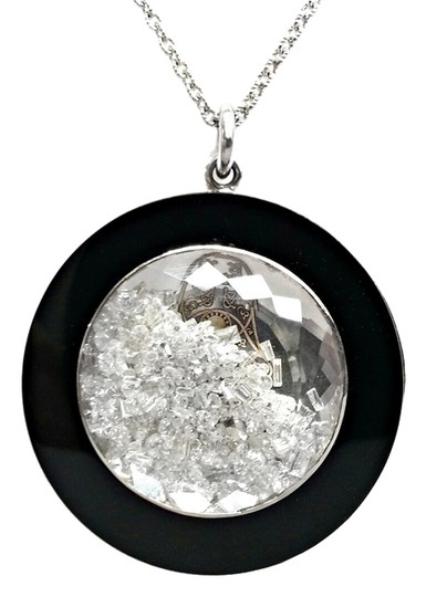 Preload https://img-static.tradesy.com/item/11791954/floating-diamond-pendant-in-18k-white-gold-with-black-onyx-necklace-0-1-540-540.jpg