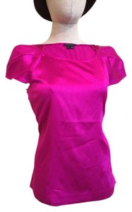 Theory Tulipsleeve Top Fucshia Pink