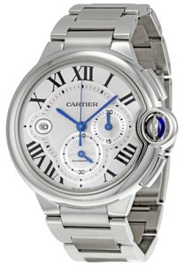 Cartier CARTIER Ballon Bleu Silver Dial Chronograph Men's Watch W6920002