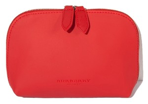 Burberry Burberry Beauty Makeup Cosmetic Bag RED