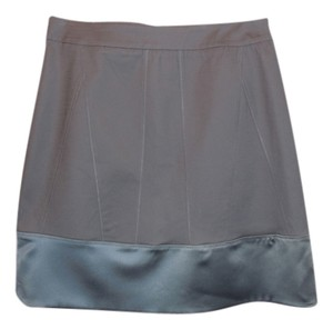Kenneth Cole New With Tags Twill Skirt Gray