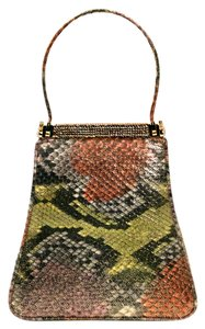 Judith Leiber Wristlet in multi colored