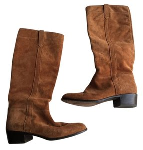 Michael Kors Orange Brown/Tan Boots
